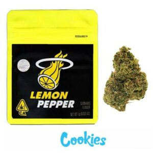 Lemon Pepper Cookies